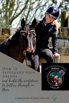 Dreams! What are yours?! This time of year, we naturally think, hear and plan more for around our goals and aspirations than any other. Often, though, the tricky part is not actually creating the goal in the first place but developing the confidence to follow through on them. >> Confident Rider - mindset, movement and nervous system awareness for equestrians Horseback Riding Lessons, Emotional Resilience, Horse Riding Tips, Training Tips, Nervous System, Confident, Equestrian, Mindset, Riding Helmets