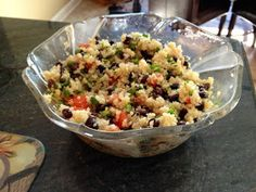 """Llama's """"Clean Eats"""": Quinoa Salad"""
