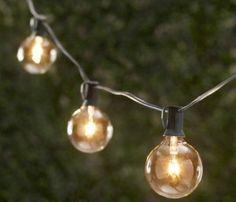 Globe Lights from Restoration Hardware, Gardenista