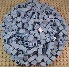 "LEGO (300) 1x1 (""LT BLUE"") BRICKS ""BRAND NEW"" BULK LOT GREAT FOR MOSAIC ART"