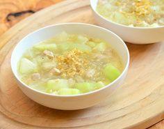 Sotanghon at Upo Soup
