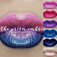 Shop Women's LipSense Pink Blue size OS Lipstick at a discounted price at Poshmark. Description: 5 LipSense (Limited Edition Prism of Colors) 1 Limited Edition Prism Gloss. Lip Sense, Magenta, Lilac, Lipsense Pinks, Lipsense Colours, Gloss Lipsense, Muse, Senegence Makeup, Senegence Products