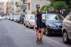 Anissa Von Busse - Milan Mens Fashion Week S/S 2015 Street Style
