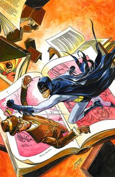 Best Art Ever (This Week): Batman '66, PJ Harvey, Calvin & Hobbes, Mister X and More