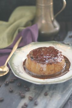 Coffee is infused into both the creamy custard base and the burnt sugar sauce (aka caramel) in this dreamy flan.