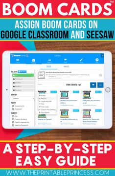Using technology can be a hassle, but let me show you how to add Boom Cards to your Google Classroom and Seesaw with ease! They are a fun and interactive way to keep kindergarten students engaged!