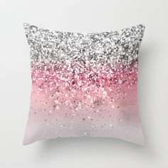Spark Variations VII Throw Pillow