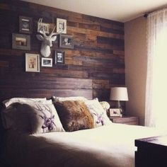 70 amazing decorating hunting theme bedrooms ideas (60)