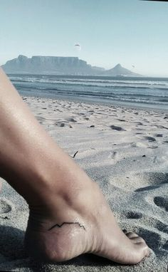 Table Mountain Tattoo for Cape Town LOVERS