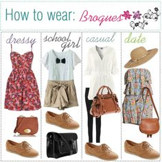 how to wear brogues?