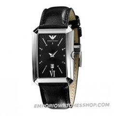 Black Leather Watches for Women Black Leather Watch, Classic Leather, Cool Watches, Watches For Men, Ladies Watches, Armani Black, Armani Watches, Watch Sale, Swagg