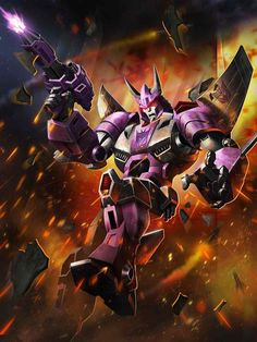 Decepticon Cyclonus Artwork From Transformers Legends Game