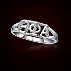 Theta Phi Alpha Sorority Rings #Sorority #Greek #ThetaPhiAlpha #Jewelry