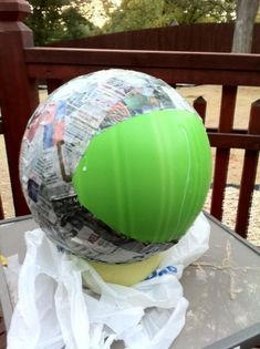 Space Helmet in process by beckylee, via Flickr