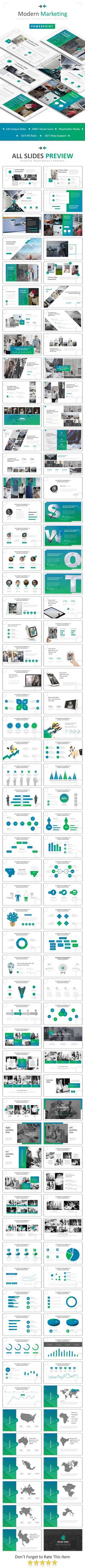 Modern Marketing Powerpoint - Business PowerPoint Templates