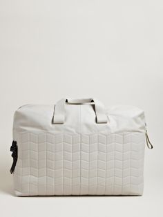 Lanvin Men's Paper Effect Weekend Bag   LN-CC Something like this for spring trip to the Bahamas
