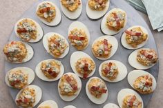 Cobb Salad Deviled Eggs Recipe by Tasty Cake Flan, Cake Mug, My Recipes, Low Carb Recipes, Cooking Recipes, Dessert Recipes, Omelettes, My Favorite Food, Favorite Recipes
