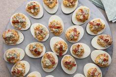 Receta muy fácil | Huevos rellenos