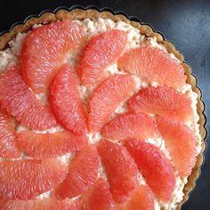 Pink Grapefruit Tart