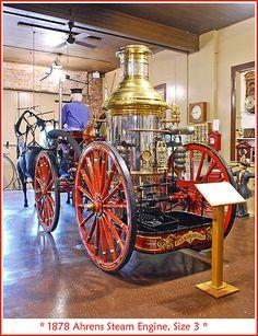 1878 Ahrens steam engine | Flickr - Photo Sharing!
