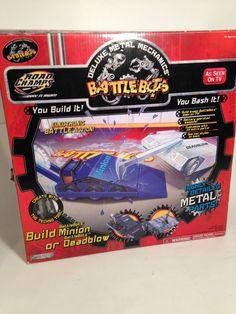 Vintage 2001 Battle Bots Jakks Pacific Road Champs Minion Deadblow | eBay