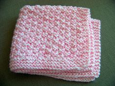 Ravelry: Box Stitch Preemie Baby Blanket pattern by Joan Laws Easy Knit Baby Blanket, Crochet Baby Blanket Free Pattern, Knitted Baby Blankets, Baby Knitting Patterns, Crochet Patterns, Baby Patterns, Knitting Ideas, Knitting Projects, Crochet Ideas