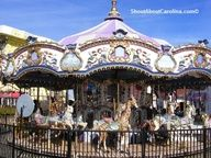 The Herschell Spillman Carousel From Pavilion Amut Park At Nostalgia Myrtle Beach S