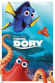 Disney Finding Dory Characters - Maxi Poster