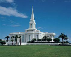 Ft. Lauderdale LDS Temple   Fort Lauderdale Florida Mormon Temple