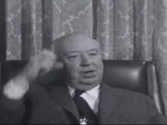 Hitchcock explains about CUTTING. Great video that provides specific examples of film technique around this topic. Film Class, Film Movie, Movies, Film Inspiration, Film School, Action Film, Great Films, Video Film, Alfred Hitchcock