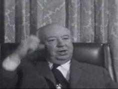 Hitchcock explains cutting