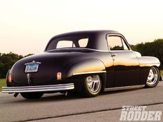 1104sr 03 O+1949 Plymouth Business Coupe+right Side
