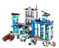LEGO City: 2014 Police Sets Crook Pursuit (60041) High Speed Police Chase (60042) Prisoner Transport (60043) Mobile Police Unit (60044) Heli...