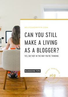If you are wondering if you can start a blog and make money, I have the answer for you right here. Click the pin to learn how making a living from home IS possible. Get the best blogging 101 tips right here. #melyssagriffin, #makemoneyfromhome, #bloggingideas, #howtostartablog, #blogging101, #bloggingforbeginners