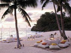 Fiesta en la playa. Amazinginteriordesing.com