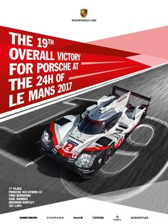 Porsche 919 HY :: Winner of 24h Le Mans 2017