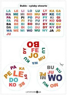 Logopedyczne gry, ćwiczenia z języka, karty do wydrukowania. - Printoteka.pl Cute Coloring Pages, Teaching, Education, Speech Language Therapy, Therapy, Onderwijs, Learning, Tutorials