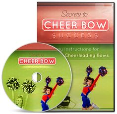 Cheer Bow Tutorial for easy and cheap cheerleading hair bows... Could use for girls cheerleader or not. Would be a great club project in school colors