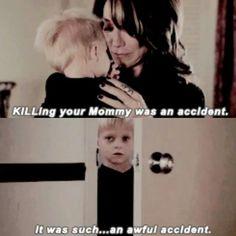 So glad Abel FINALLY told Jax that it was grandma killed his step mommy, Tara!!