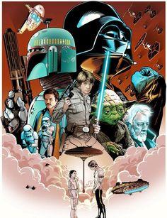 Star Wars by Joshua Budich