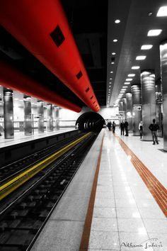 Athens Subway, Greece