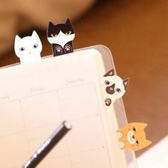 Sticky Notes Memo Pad Post It Pet Series Kitty It Ver 2 Thehaki | eBay