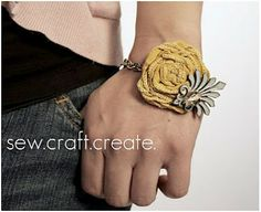 Easy Rosette Jewelry to Make
