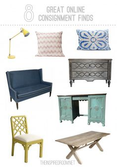 8 Great Online Furniture Consignment Finds