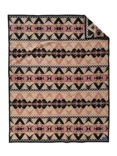 rosa valley blanket by pendleton. :-) I feel like splurging on some pendletons.