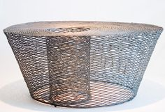 Wire coffee table by Ann Paminutuan, Sweet