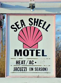 Sea Shell Motel for a mermaid night Oahu, Kitsch, Tropical, Typography, Lettering, Photoshop, Pink Aesthetic, Summer Bucket Lists, Motel