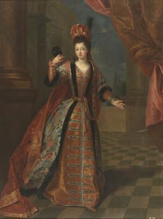 Marie Louise Elisabeth d'Orleans, Duchesse du Berry by Pierre Gobert, 1718 17th Century Fashion, 18th Century, French History, Art History, Historical Costume, Historical Clothing, Ludwig Xiv, European Costumes, Elisabeth