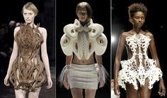 3-D Printed Clothing! Prototypes for home-clothing printers are already in the making :-)