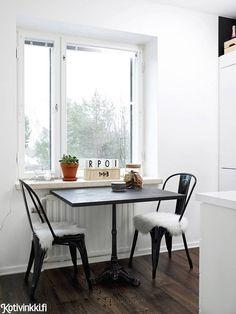 Mustavalkoinen koti | Kotivinkki